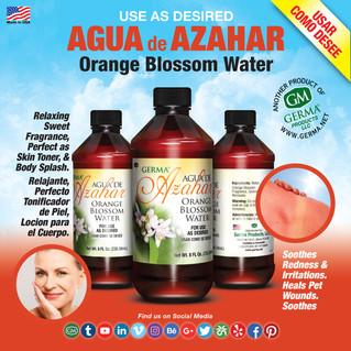 Orange Blossom Water - 8oz