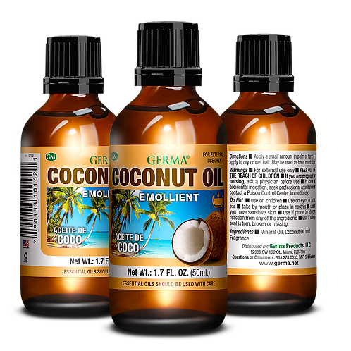 Germa® Coconut Oil - 1.7oz & 3.38oz