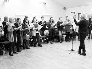 Singing is well and truly back!