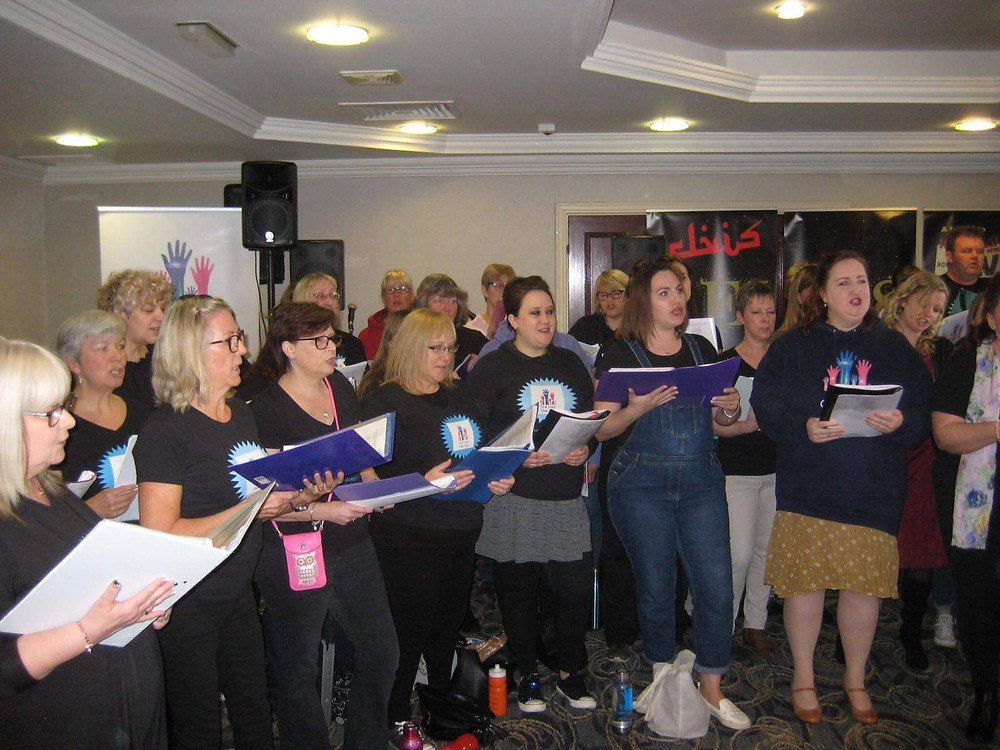 One Voice Glee Club Adults Performance