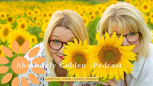 Claire and Josie Absolutely Golden Podcast Hosts