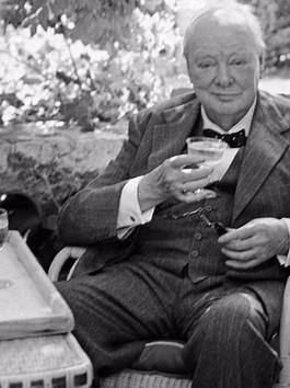 Winston Churchill on Champagne