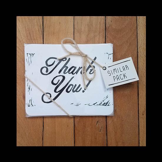 Gratitude Cards Similar Pack - Thin Script
