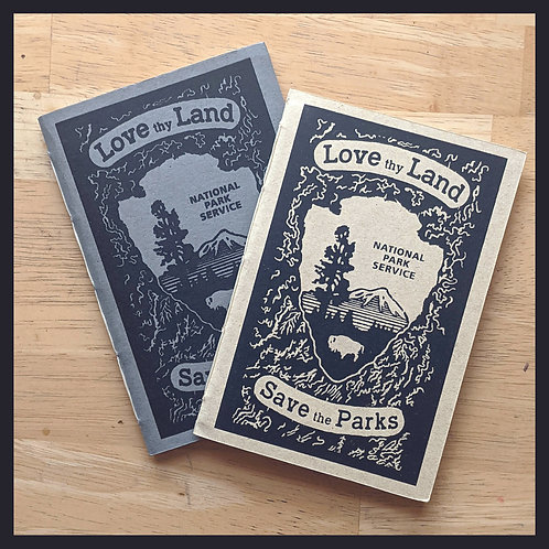 Love Thy Land - Pamphlet Book