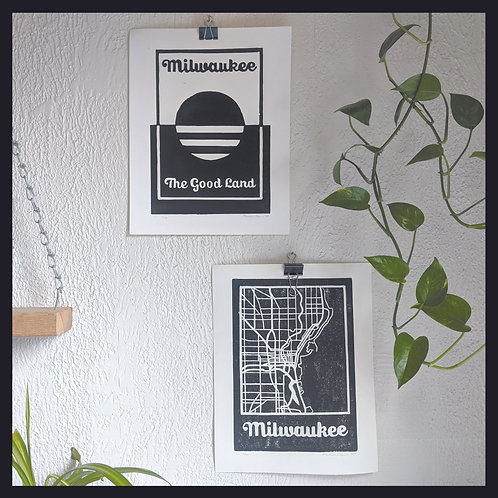 Milwaukee Poster Set