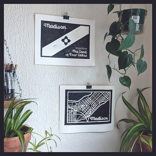 Madison Poster Set