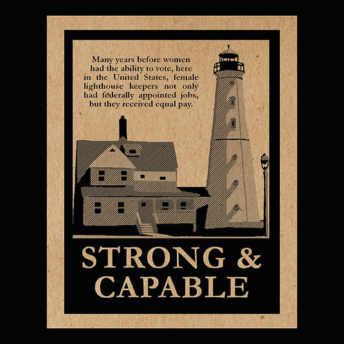 """Strong & Capable"" Flyer"