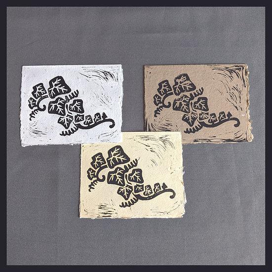 Handmade Paper - Nature Series - Ivy