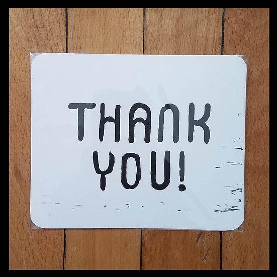 Gratitude Card - San Serif