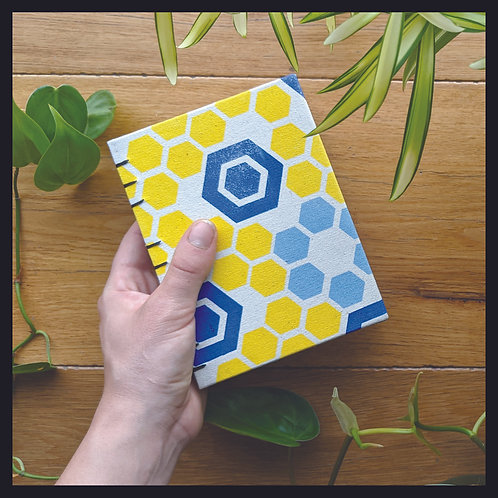 Honeycomb Book (Blue)