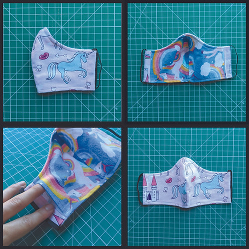 Flannel Unicorns & Pegasi (Fitted)