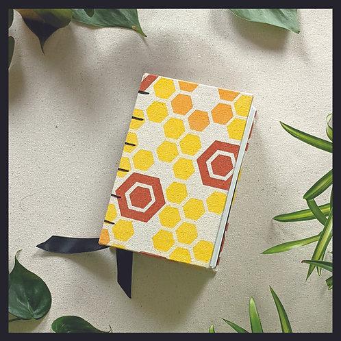 Honeycomb Sketchbook - Coptic Stitch