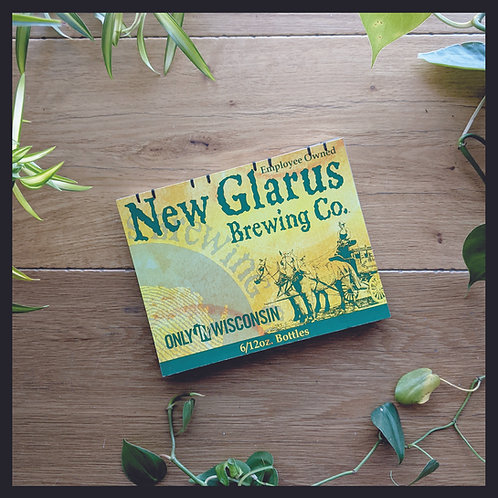 New Glarus Beer Book - Large