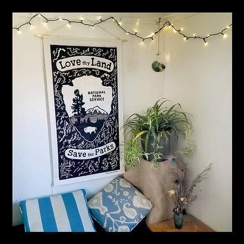 """Love Thy Land"" Large Banner"