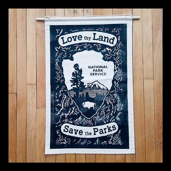 """Love Thy Land"" Medium Banner"