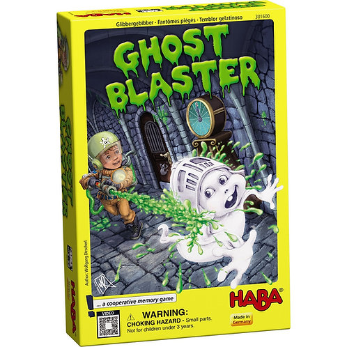 Ghost Blaster - A Cooperative Memory Game