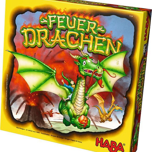 Fire Dragons - An Explosive Collecting Competition Family Board Game for Ages 5+