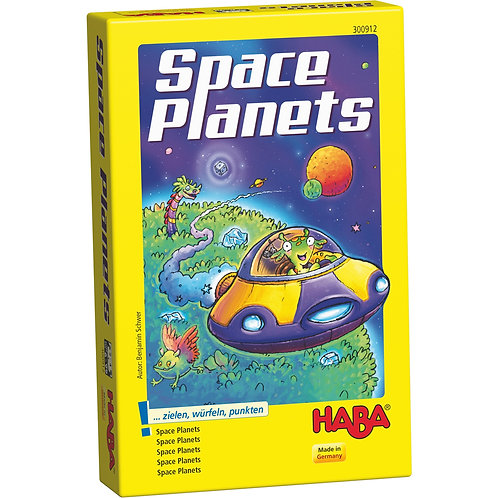 Space Planets - A Dice and Discovery Game for Ages 6 +