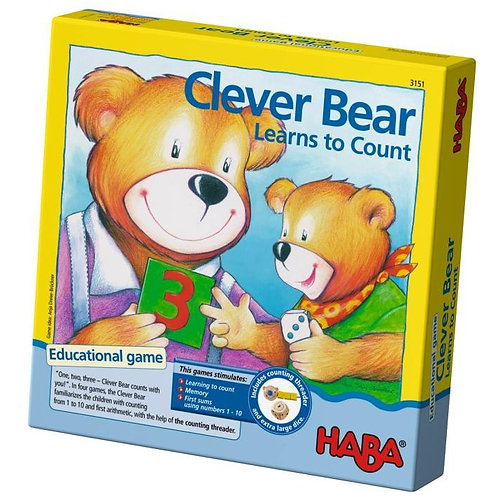 Clever Bear Learns to Count - A Counting Game