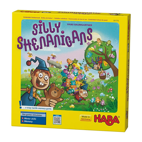Silly Shenanigans - A Crazy Tactile Memory Game