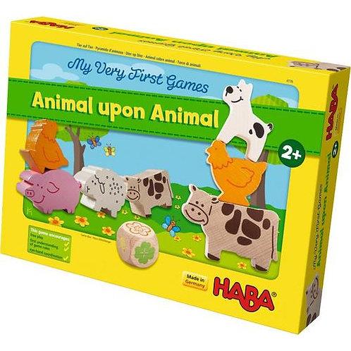 My Very First Games - Animal Upon Animal Wood Stacking Game