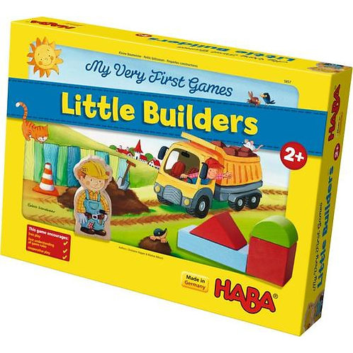 Little Builders - A Cooperative Game for Ages 2 +