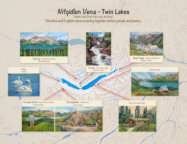 Lake Clark National Park poster