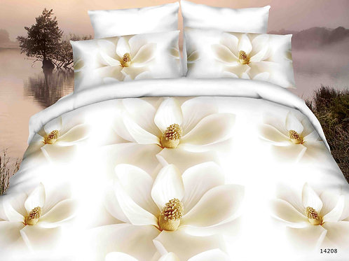 3D Duvet set,80 GSM DAISY, available in Double, Kingsize