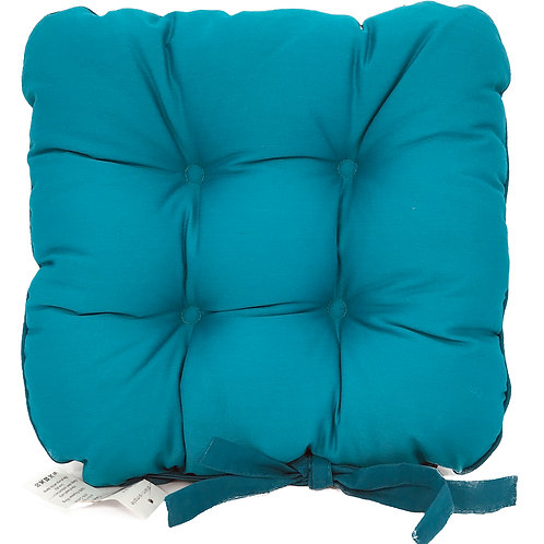 Seat Pad Dining Room Garden Kitchen Chair Pads Cushions Tie On TEAL