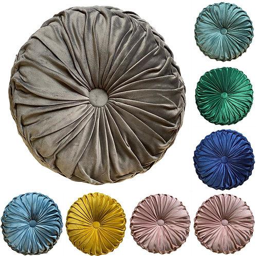 Cushion Soft HOLLAND PLUSH Velvet Cushions Luxury Chic Filled cushion Round