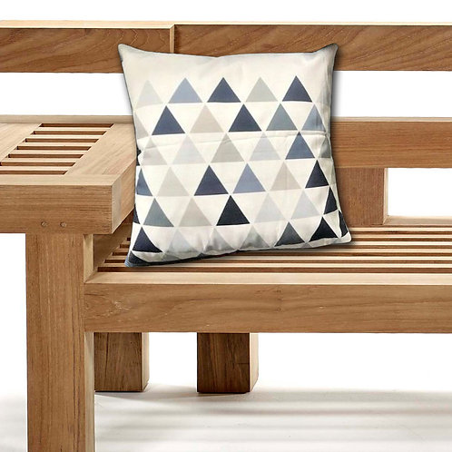 Outdoor Cushions Waterproof Canvas FILLED Cushions Triangles