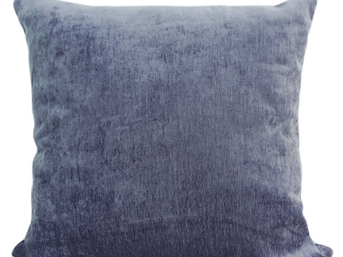 Plain Soft Chenille Cushions or covers Mauve