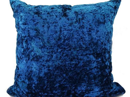Crush Velvet Cushions Teal