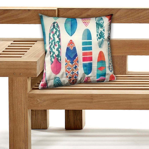 Outdoor Cushions Waterproof Canvas FILLED Cushions Surfing