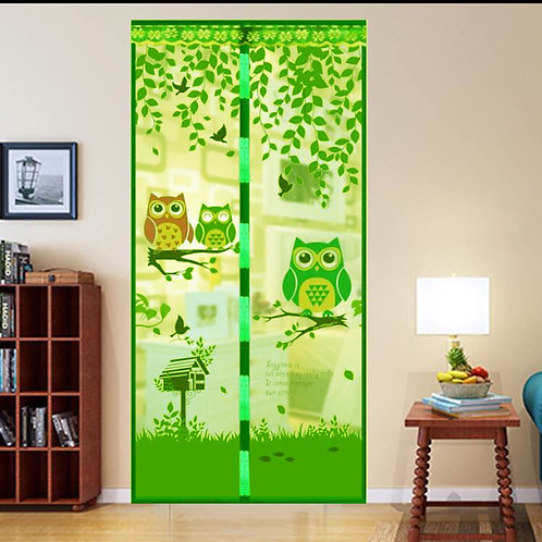 MAGIC Magnetic Insect Bug Mosquito Door Fly screen owls