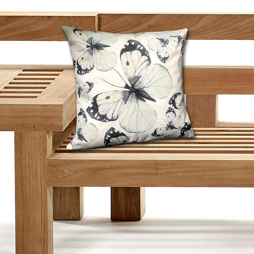 Outdoor Cushions Waterproof Canvas FILLED Cushions Butterfly