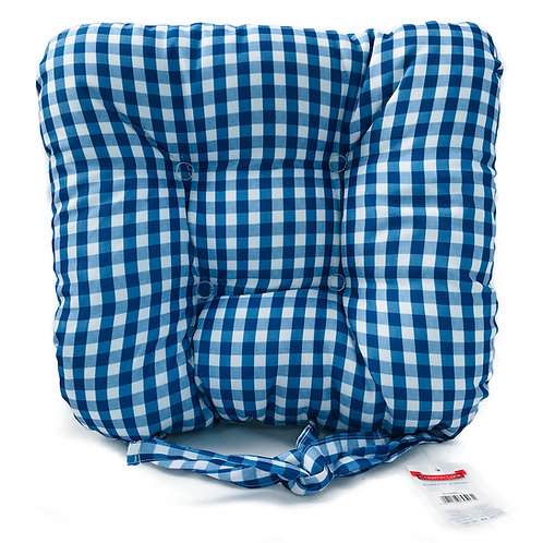 Seat Pad Dining Room Garden Kitchen Chair Pads Cushions Tie On BLUEBELL