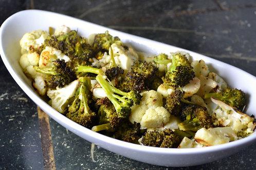 Baked seasonal vegetables