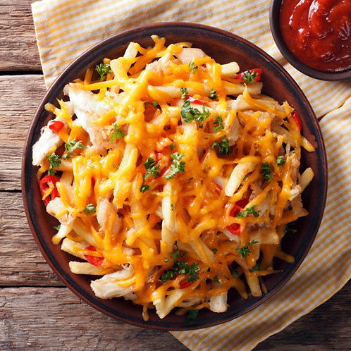 Cheesy French fries