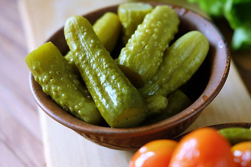 Homemade pickles (500 gramm) (солёные огурцы)