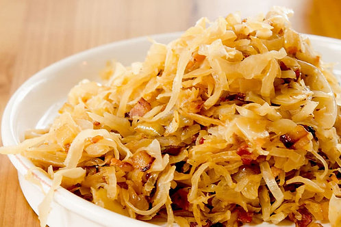 Sauerkraut with bacon
