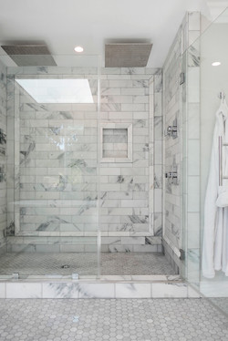 Marble Double Shower