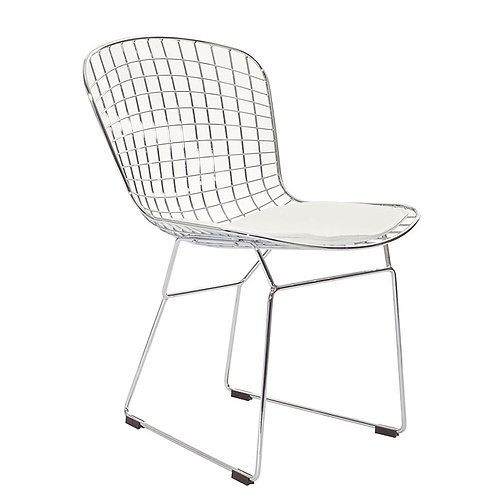 Grid Chair Chrome