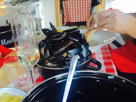 Winner Winner Moules Frites Dinner.