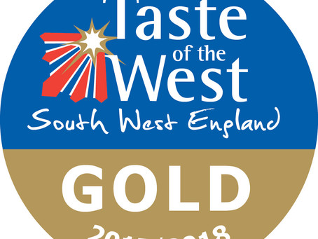 Witheridge's La Petite Bouchée Scoops GOLD from Taste of The West for the second year running.
