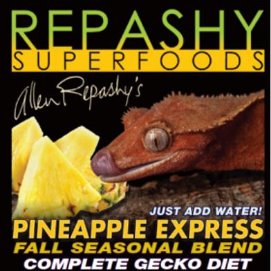 Repashy Pineapple Express Seasonal Blend Complete Gecko Diet - 3oz