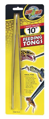 Zoo Med Feeding Tongs Stainless 10