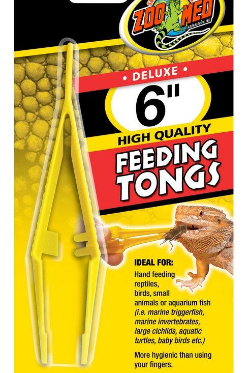 Zoo Med Feeding Tongs Plastic