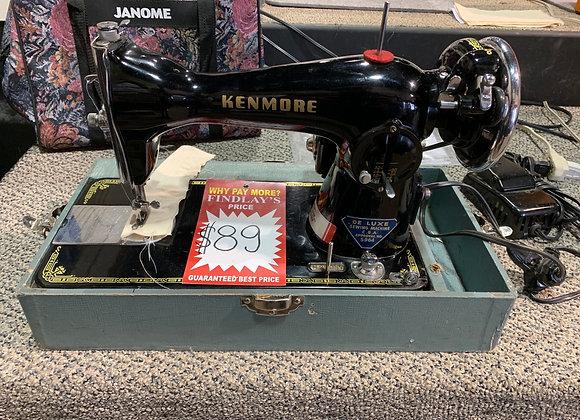 Kenmore De Luxe Sewing Machine