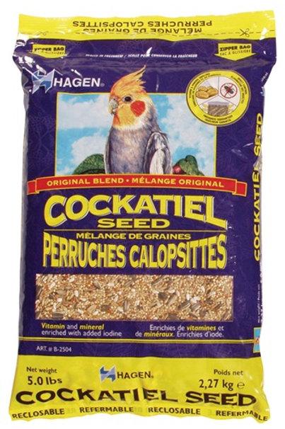 Hagen Cockatiel Seed - 6lb